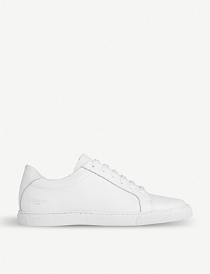 LK BENNETT Jack leather trainers