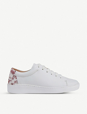 LK BENNETT Leora leather trainers
