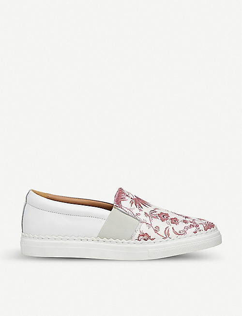 LK BENNETT Lark leather espadrilles