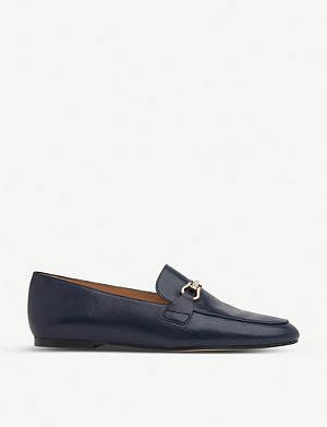 LK BENNETT Marina leather loafers