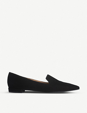 LK BENNETT Arie suede loafers