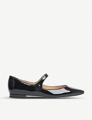 LK BENNETT Mary Jane patent leather flats