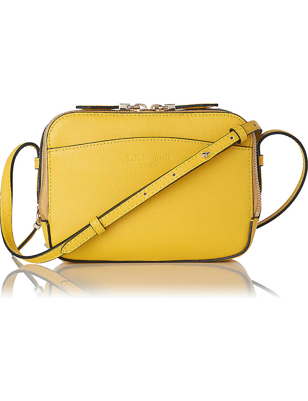 7bf6e5fc7492 LK BENNETT - Mariel leather cross-body bag | Selfridges.com