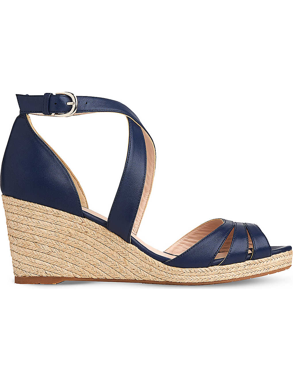 d3181426888 LK BENNETT - Priya espadrille wedge sandals