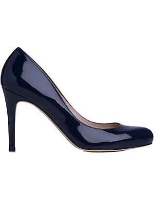 LK BENNETT: Stila patent-leather courts