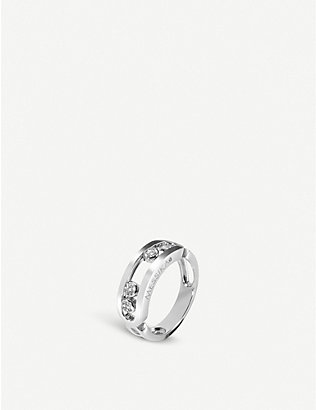 MESSIKA: Move 18ct white-gold and diamond ring