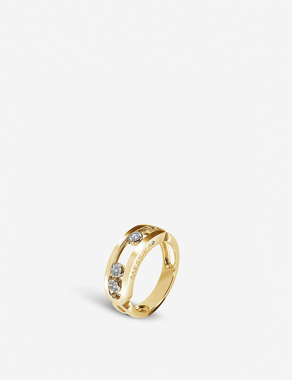 MESSIKA: Move Classic 18ct gold and diamond ring