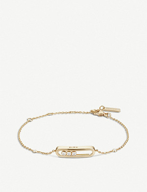MESSIKA Baby Move 18ct gold and diamond bracelet