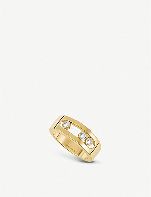MESSIKA Move Joaillerie 18ct gold and diamond ring