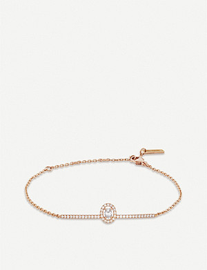 MESSIKA Glam'Azone 18ct pink-gold and diamond bracelet