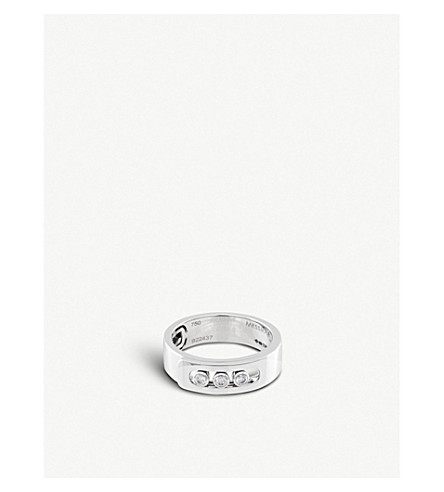 MESSIKA Move Noa 18Ct White-Gold And Diamond Ring