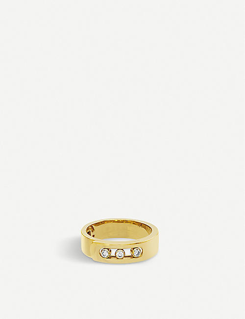 MESSIKA Move Noa 18ct yellow-gold and diamond ring