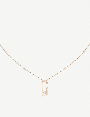 MESSIKA Move Addiction 18ct rose-gold and diamond necklace
