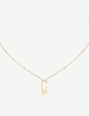 MESSIKA Move Addiction 18ct yellow-gold and diamond necklace
