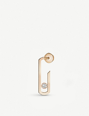 MESSIKA Gigi Hadid Move Addiction 18ct rose-gold diamond right earring