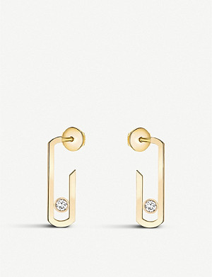 MESSIKA Gigi Hadid Move Addiction 18-carat-gold diamond earrings