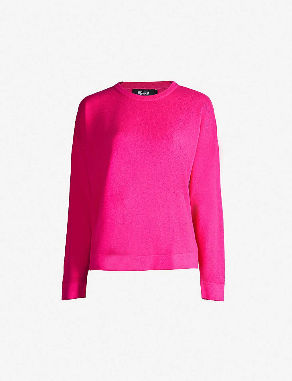 cfe6839f8f707f ME AND EM - Round-neck cashmere jumper | Selfridges.com