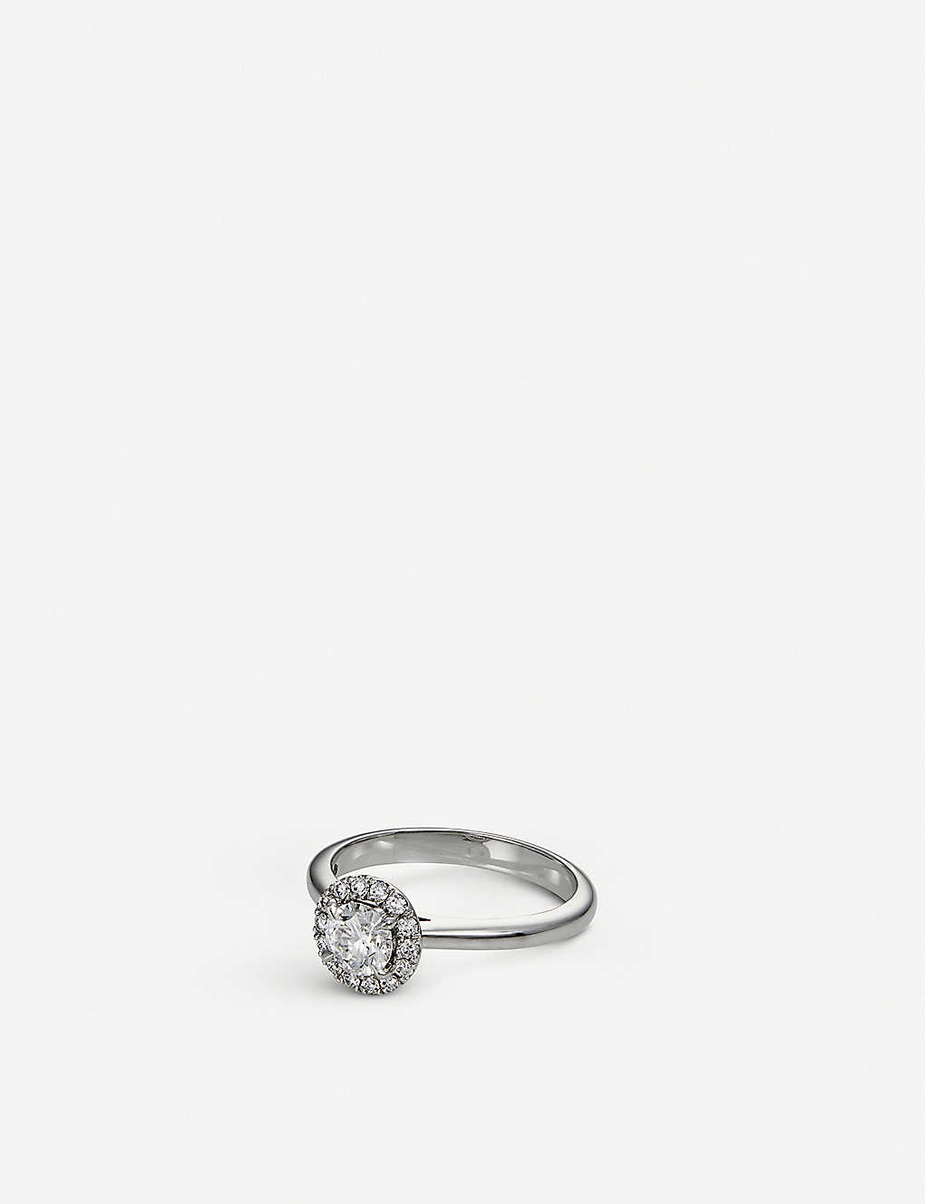 c8a2416f53643 Joy 18ct white gold and diamond ring