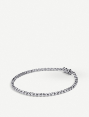 BUCHERER FINE JEWELLERY Classics 18ct white-gold and diamond bracelet