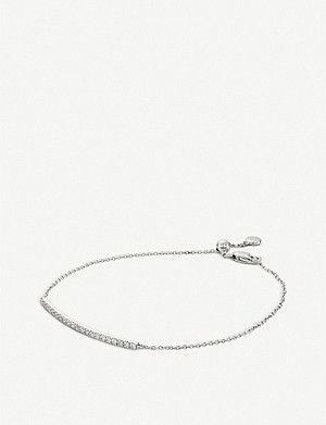 BUCHERER FINE JEWELLERY 18ct white-gold and diamond bracelet
