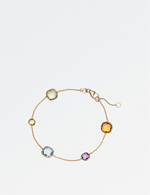 BUCHERER FINE JEWELLERY Colour Drops 18ct rose-gold bracelet