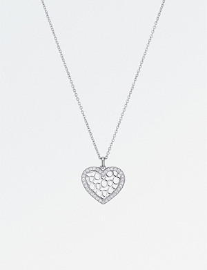 BUCHERER FINE JEWELLERY Infinite Love 18ct white gold diamond pendant necklace