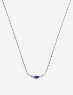 BUCHERER FINE JEWELLERY Classics 18ct white-gold diamond necklace
