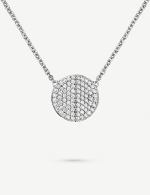 BUCHERER FINE JEWELLERY B-dimensions 18ct white-gold and diamond necklace necklace