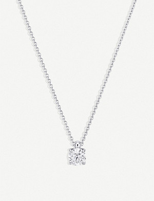 BUCHERER FINE JEWELLERY 18k white gold and diamond necklace