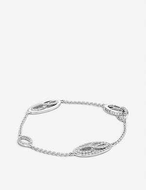 BUCHERER FINE JEWELLERY Vivelle 18ct white-gold and diamond bracelet