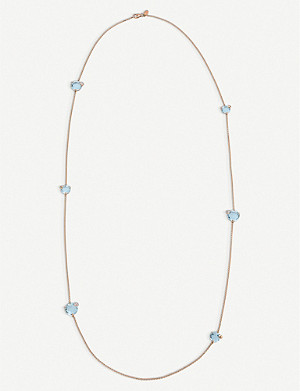 BUCHERER FINE JEWELLERY Peekaboo 18ct rose-gold diamond necklace