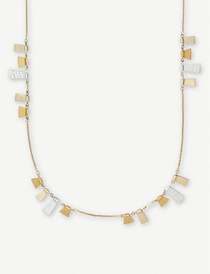 KENDRA SCOTT Lynne 14ct gold-plated necklace