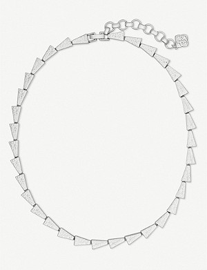 KENDRA SCOTT Leon silver-plated necklace