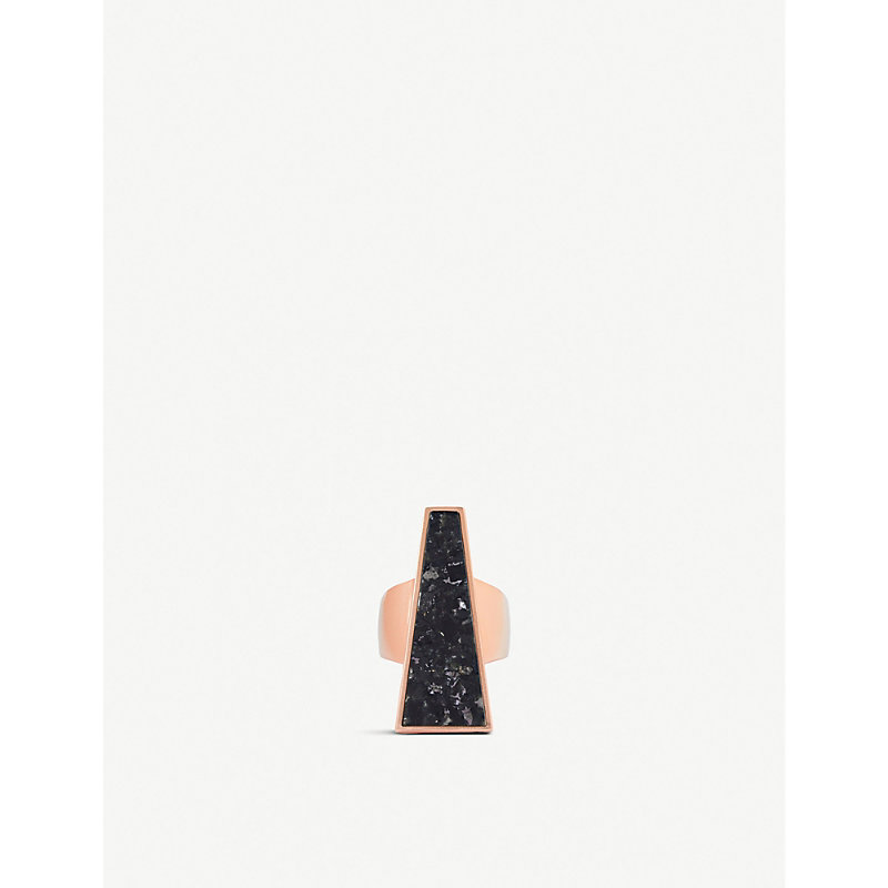 Kendra Scott Rings COLLINS COCKTAIL ROSE GOLD-PLATED RING