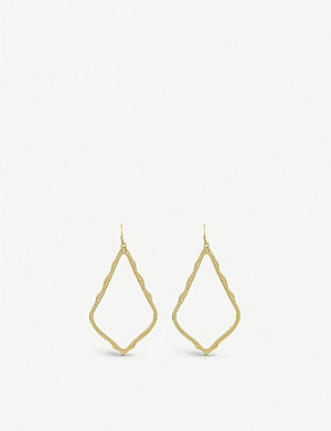 KENDRA SCOTT Sophee gold-plated earrings
