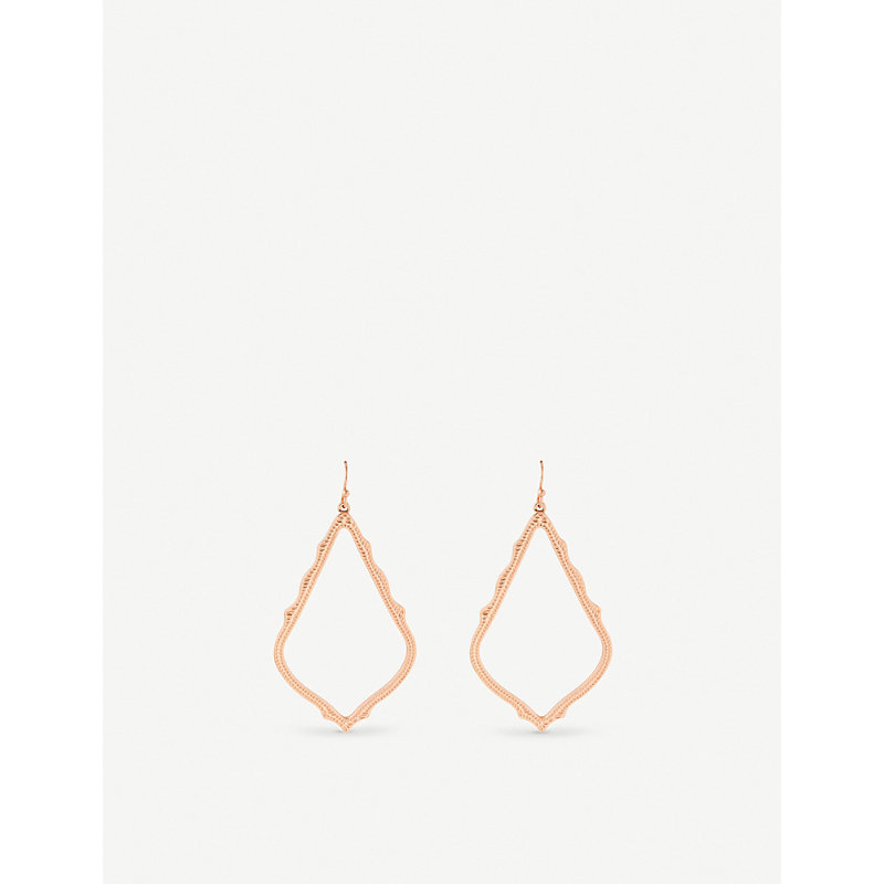KENDRA SCOTT | Sophee Rose-Gold Plated Earrings | Goxip