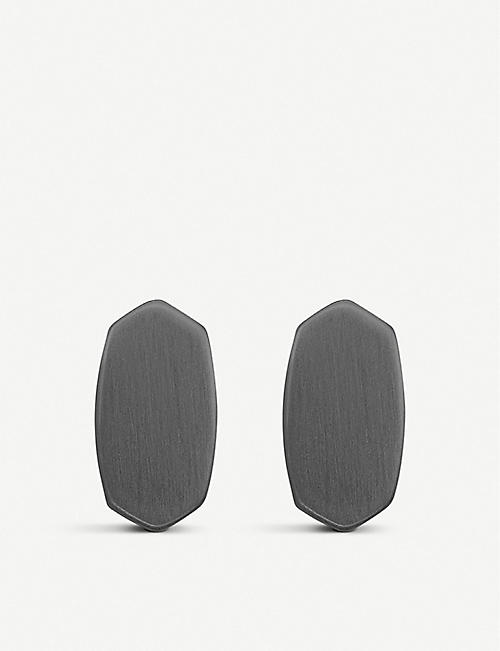 KENDRA SCOTT Barrett rhodium-plated studs