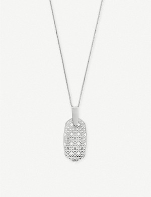 KENDRA SCOTT Inez filigree pendant necklace