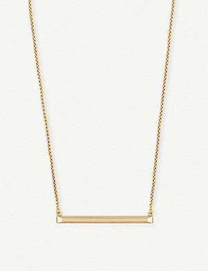 KENDRA SCOTT Kelsey 14ct yellow-gold-plated necklace