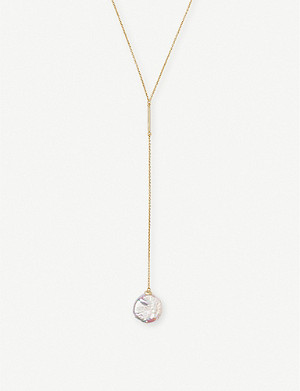 KENDRA SCOTT Andi gold-plated and pearl necklace