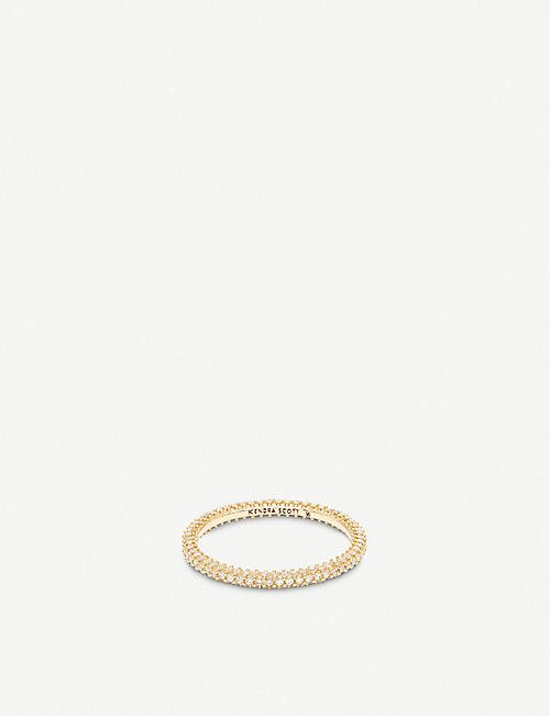 KENDRA SCOTT Remi 14ct gold and diamond ring
