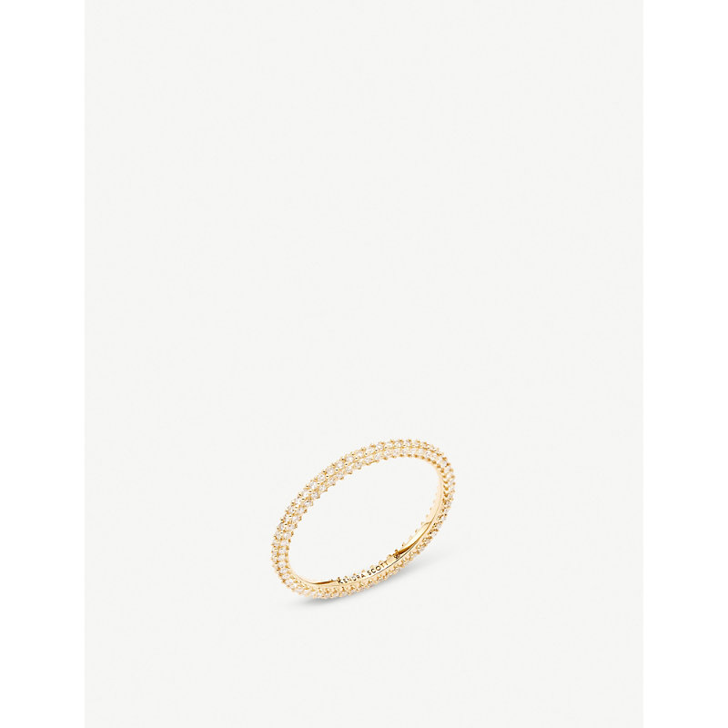 KENDRA SCOTT   Remi 14ct Gold And Diamond Ring   Goxip