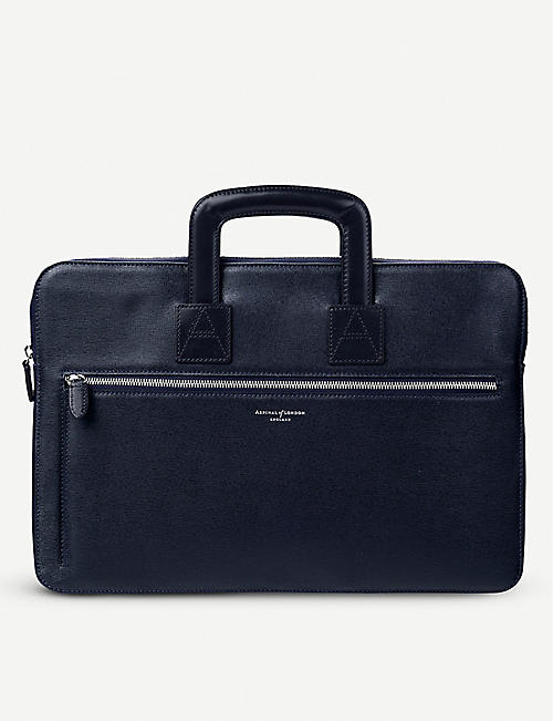 ASPINAL OF LONDON: Connaught leather document case