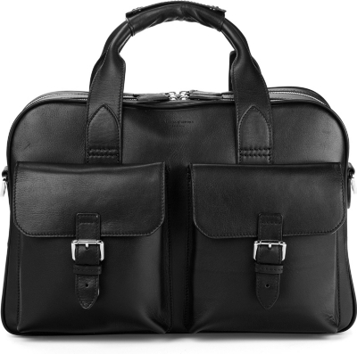 ASPINAL OF LONDON Harrison leather overnight business bag