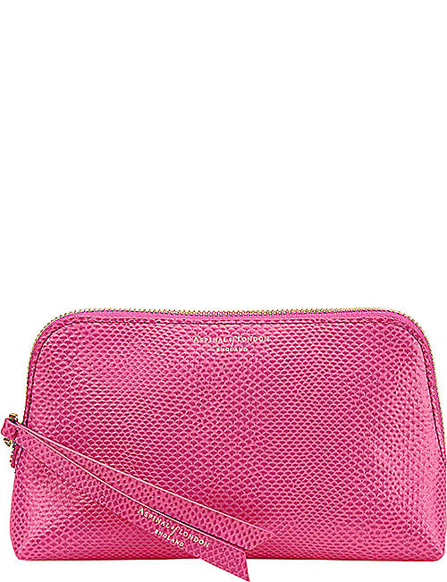 8f765ab98b3b ASPINAL OF LONDON Essential leather cosmetic case