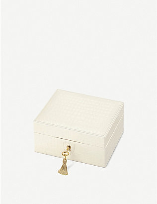 ASPINAL OF LONDON: Bijou leather jewellery box