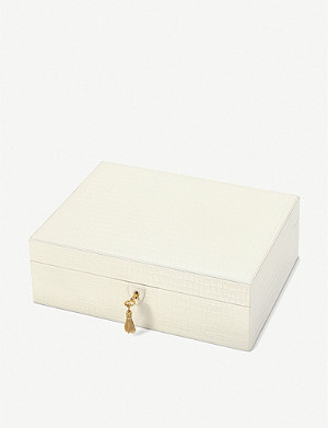 ASPINAL OF LONDON Grande Luxe leather jewellery box