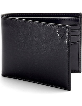 ASPINAL OF LONDON: Billfold leather wallet