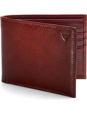 ASPINAL OF LONDON Billfold leather wallet