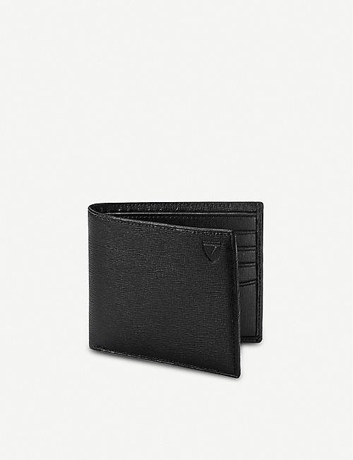 ASPINAL OF LONDON Billfold saffiano leather wallet